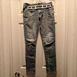 Levi's Too Superlow 524 Skinny Low Cut Jeans